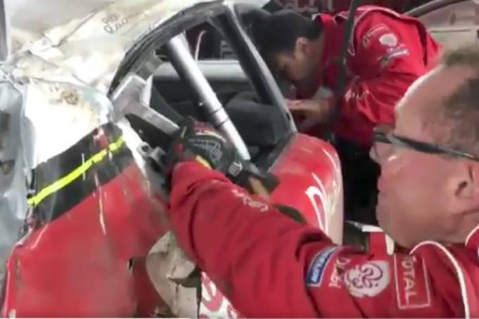 Reparos no Citroën C3 WRC
