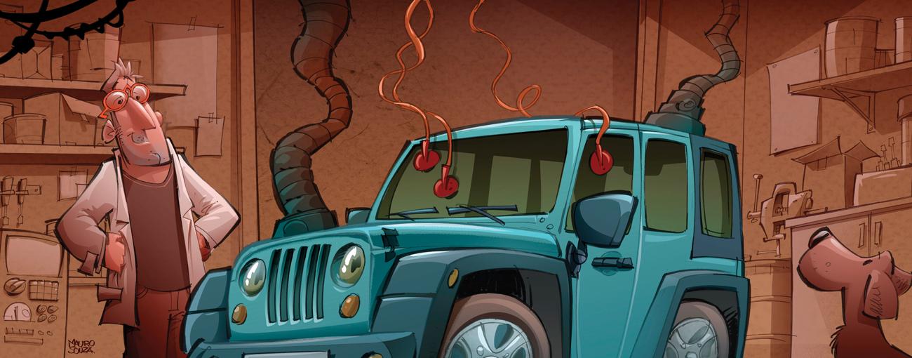 Carro que fica muito tempo parado deve receber um tratamento especial