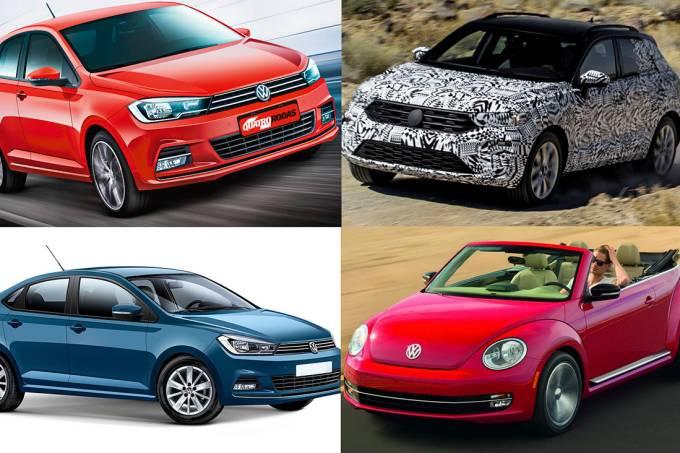 VW Polo, Virtus, T-Roc e Beetle
