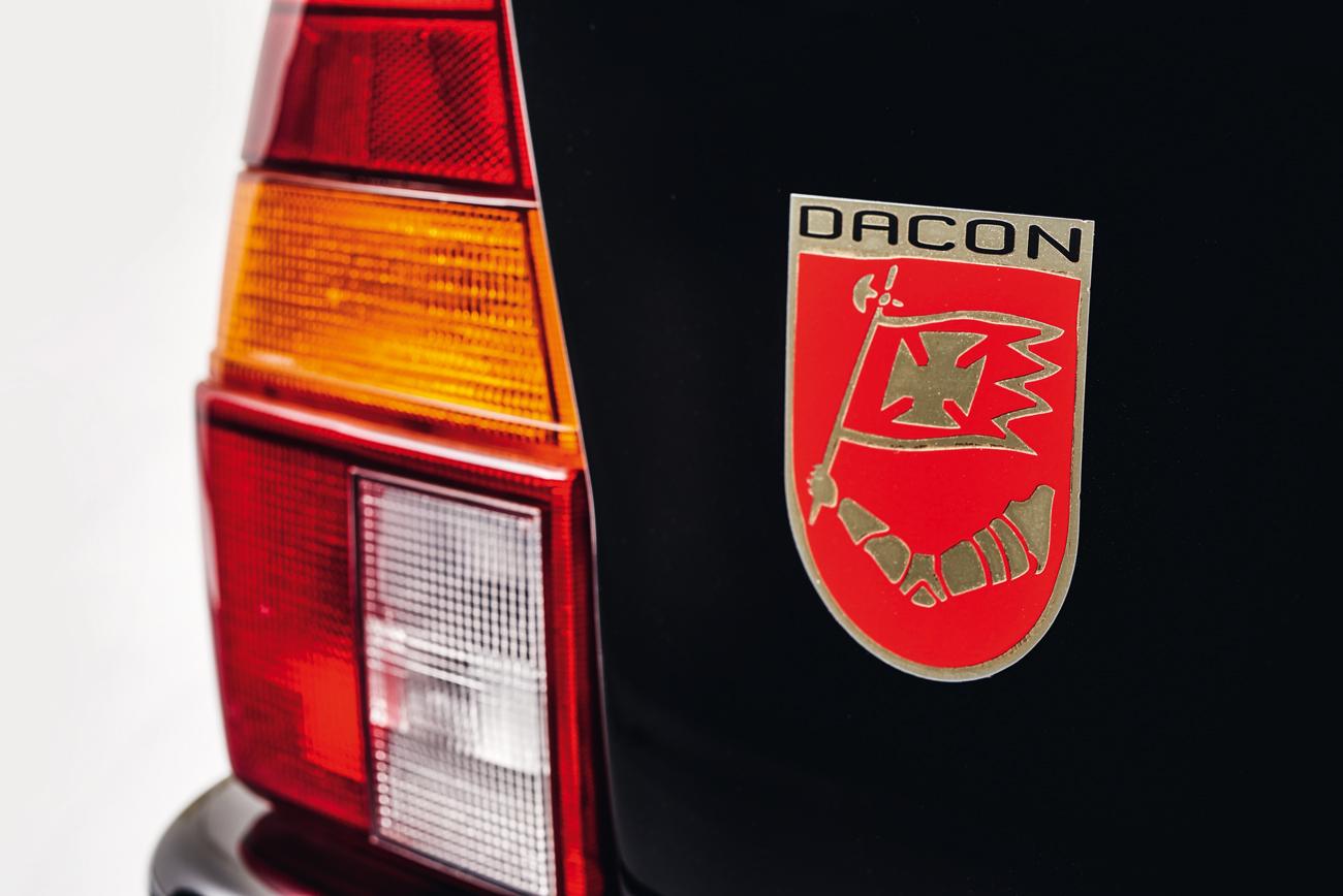 Símbolo da Dacon reforçava a identidade do minicarro