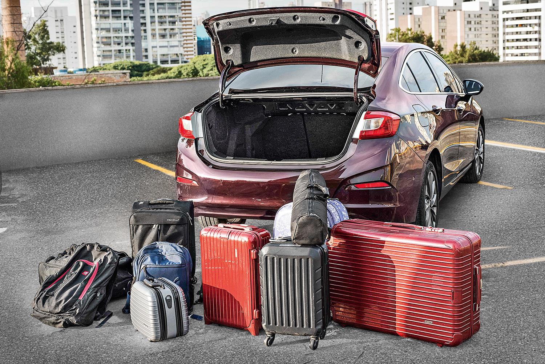 De mochilas a mala grande: do jeito certo é possível viajar sem dor de cabeça