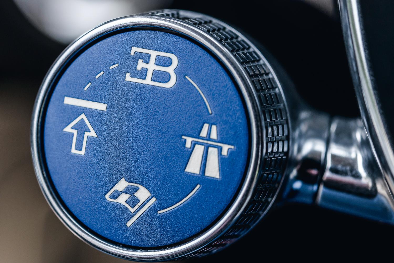 Botão dos modos de condução fica no volante