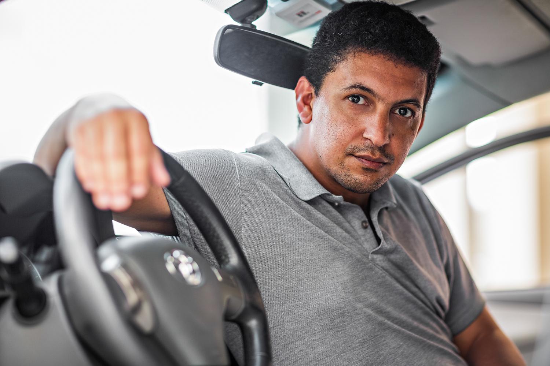 Cristiano: adesivo no lugar da troca do airbag