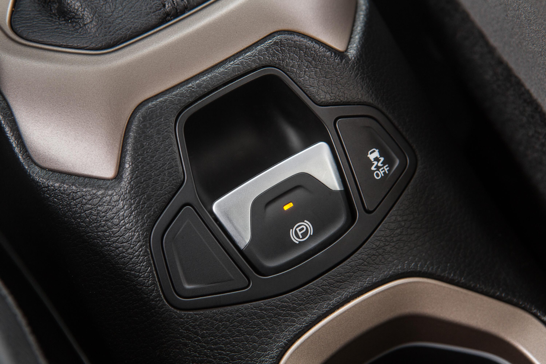 Freio de estacionamento eletrônico do Jeep Renegade