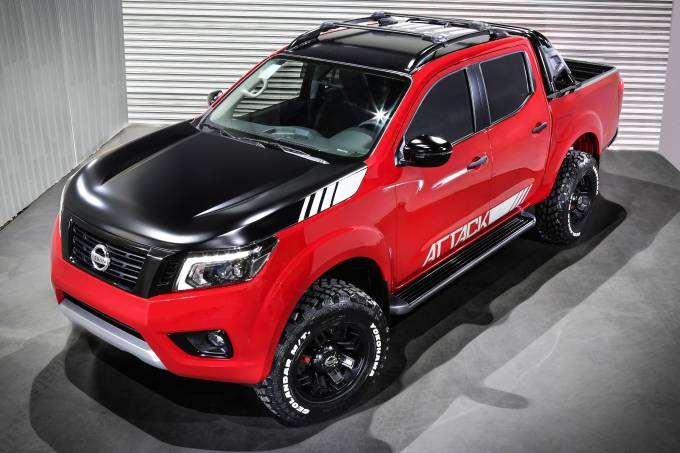 Nissan Frontier Attack 2