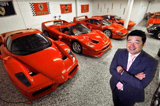 David Lee e suas Ferraris 1