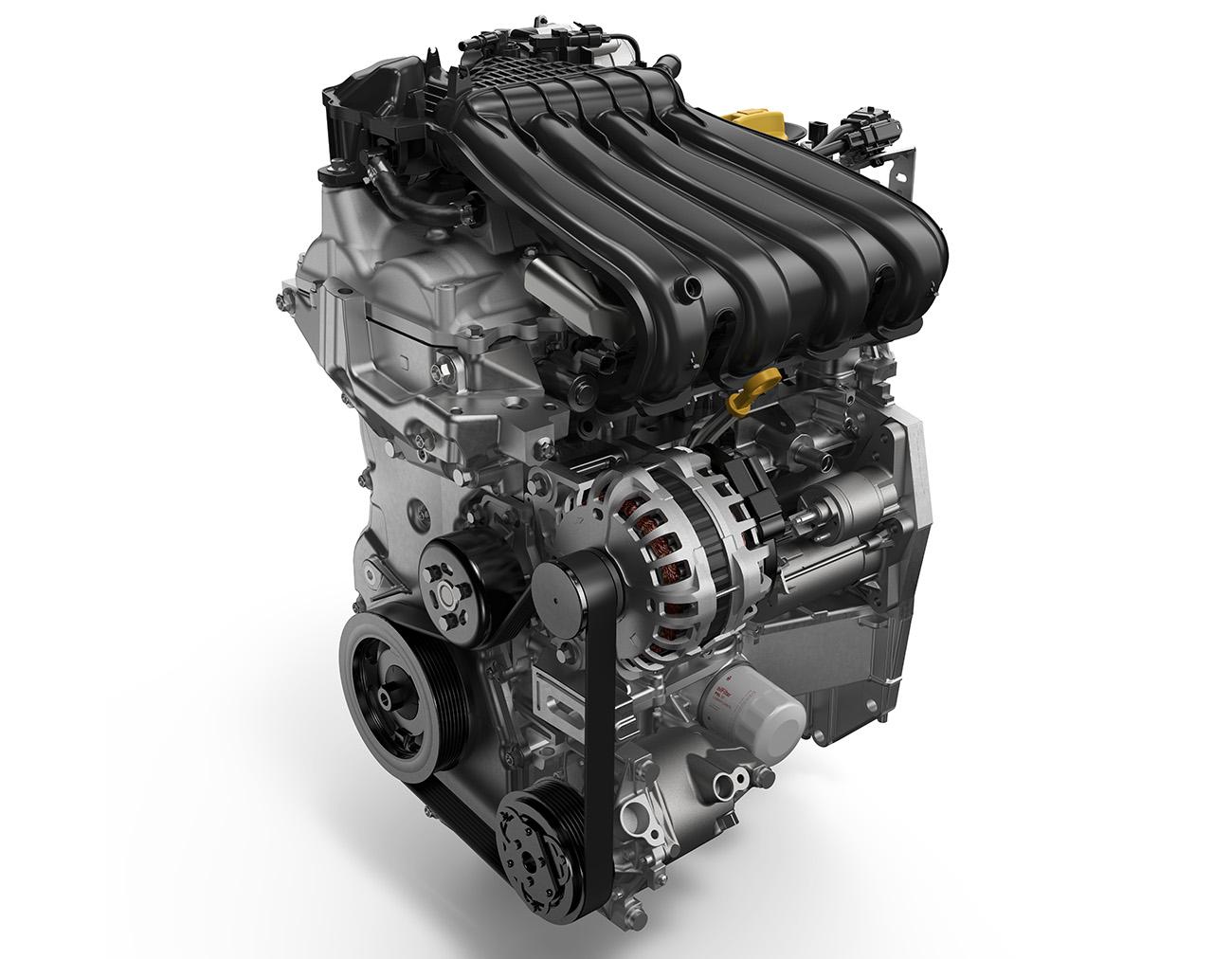 Motor 1.6 16V SCe tem mais potência e torque