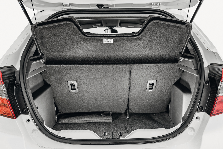 O menor do porta-malas é o do Ka com 257 litros