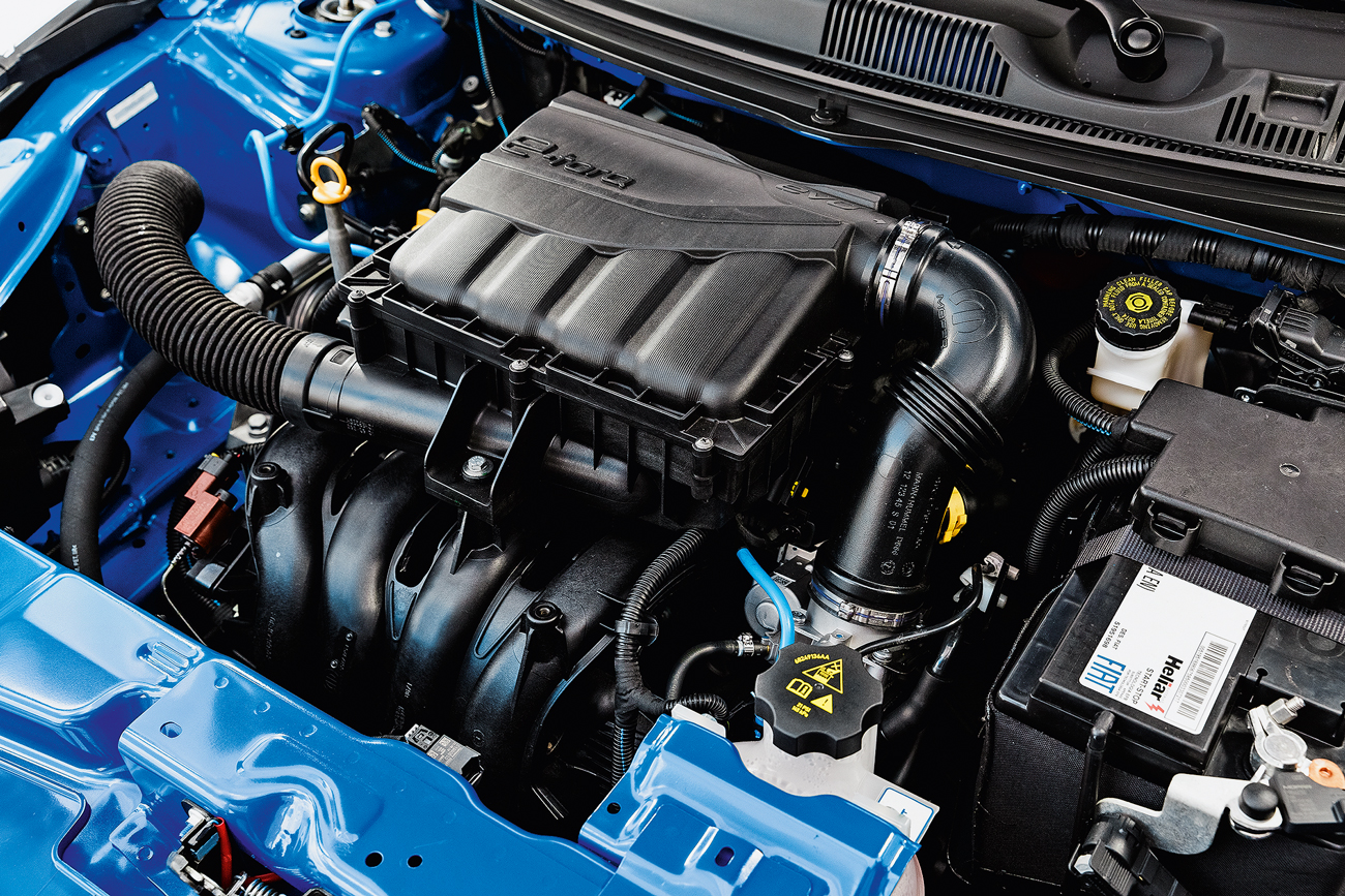 Com até 139 cv se movido a etanol, motor 1.8 é o mesmo do Renegade
