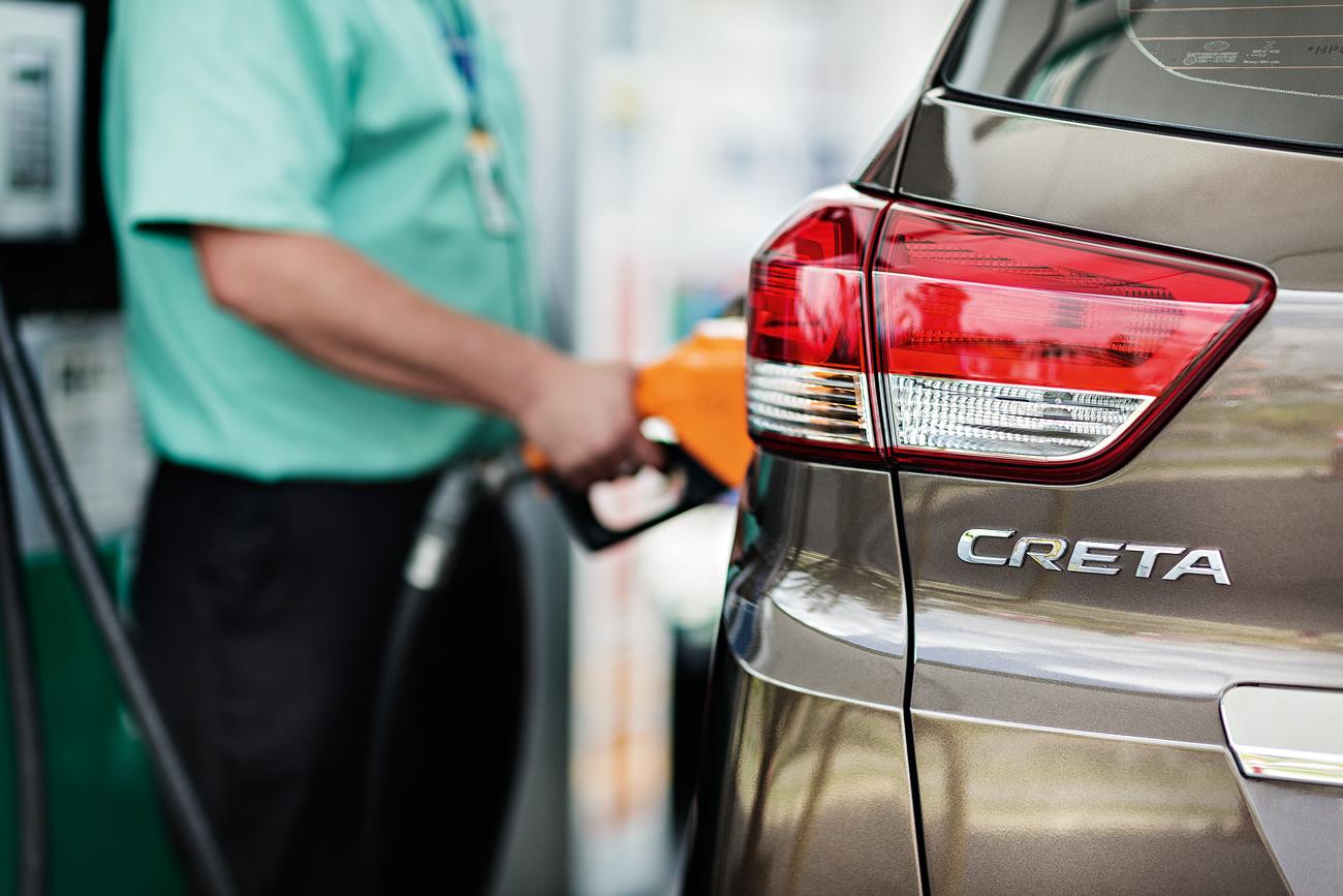 O Creta inaugura uma nova fase: os carros serão abastecidos somente com gasolina