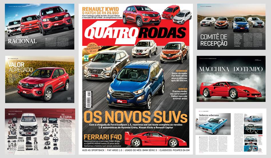 QUATRO RODAS - edição 698 - agosto 2017