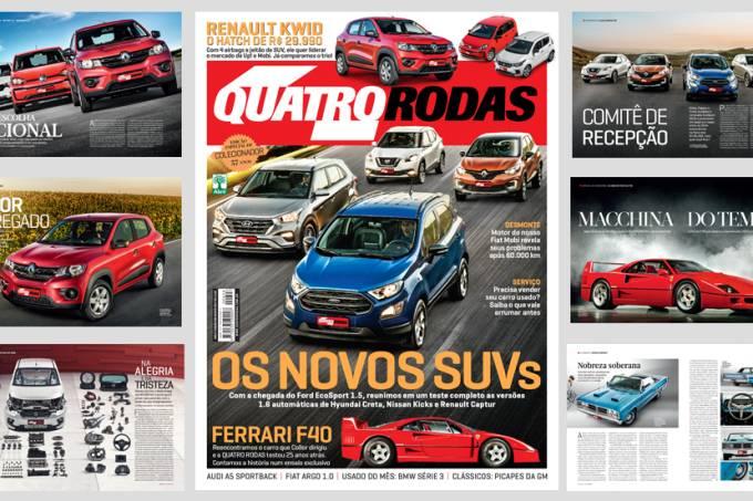 QUATRO RODAS – edição 698 – agosto 2017
