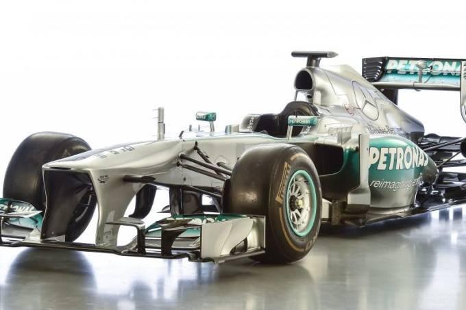 Fórmula 1 Mercedes W04 2013 Lweis Hamilton