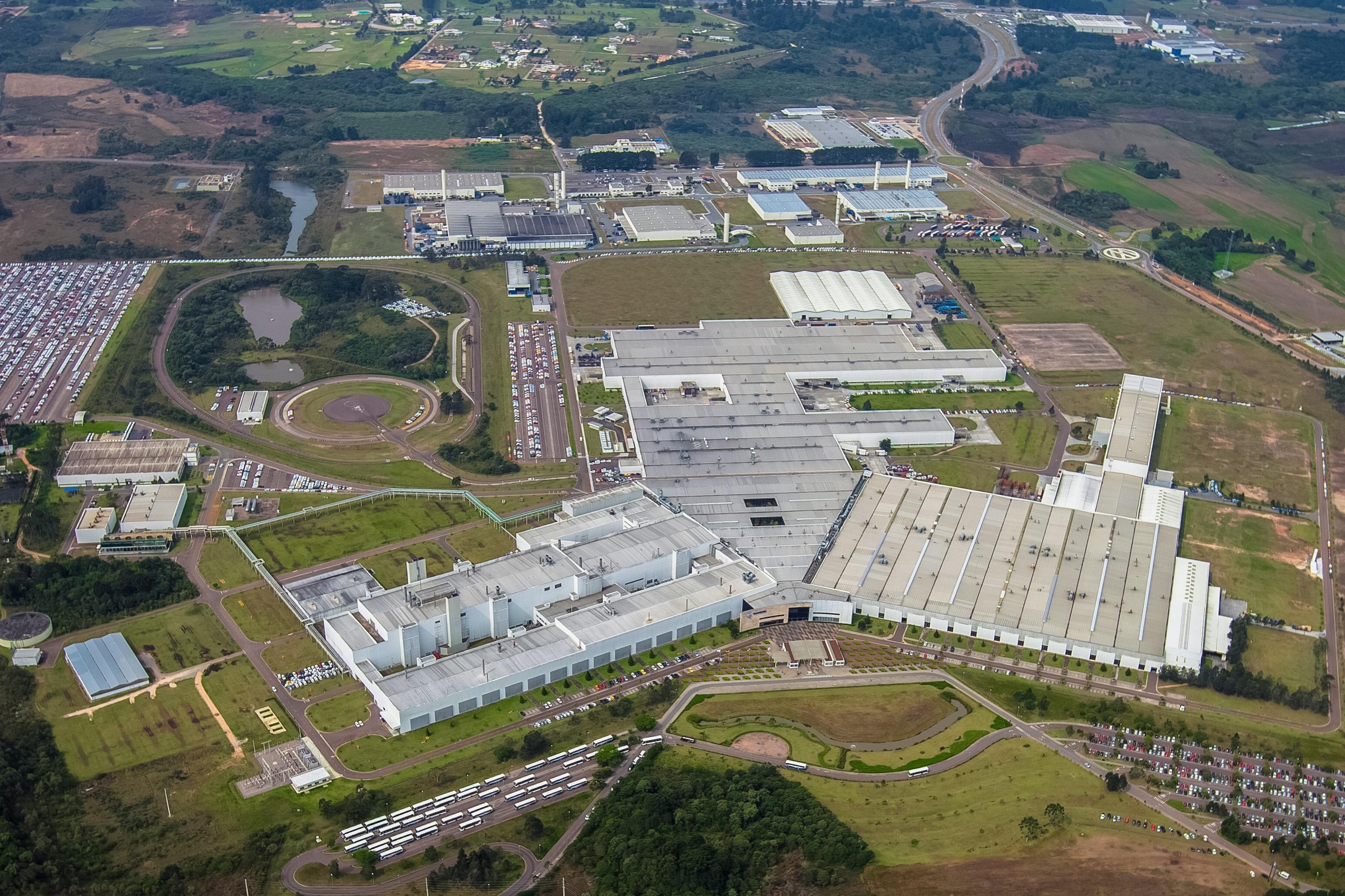 Fábrica Volkswagen São José dos Pinhais