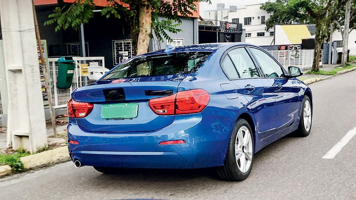 Segredo: BMW Série 1 Sedan