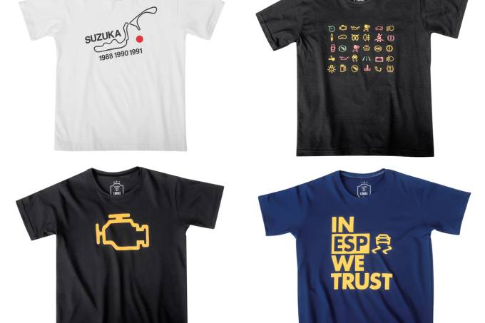 Camisetas quatro rodas