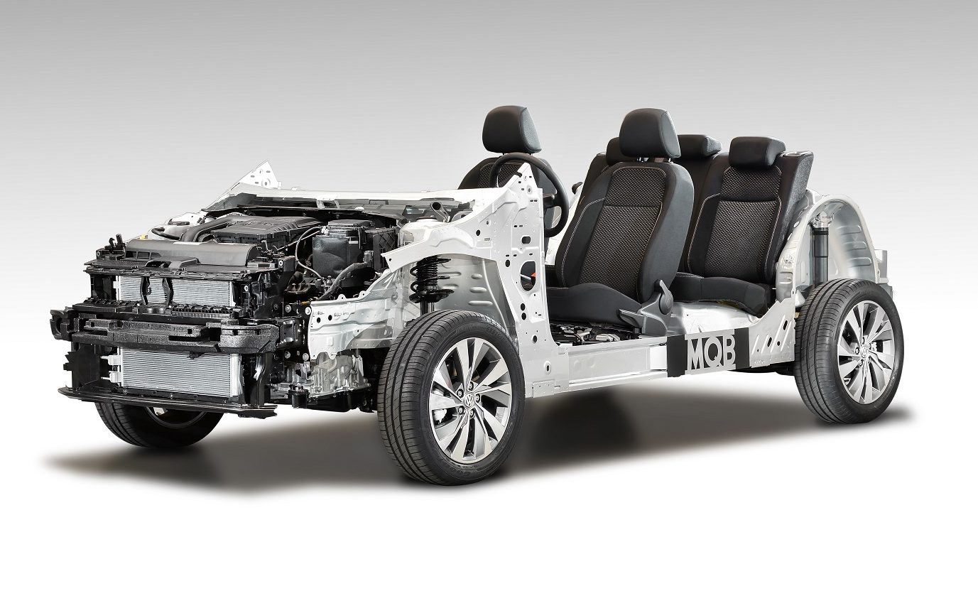 Plataforma modular Volkswagen MQB
