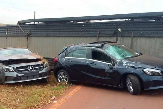 Acidente Mercedes
