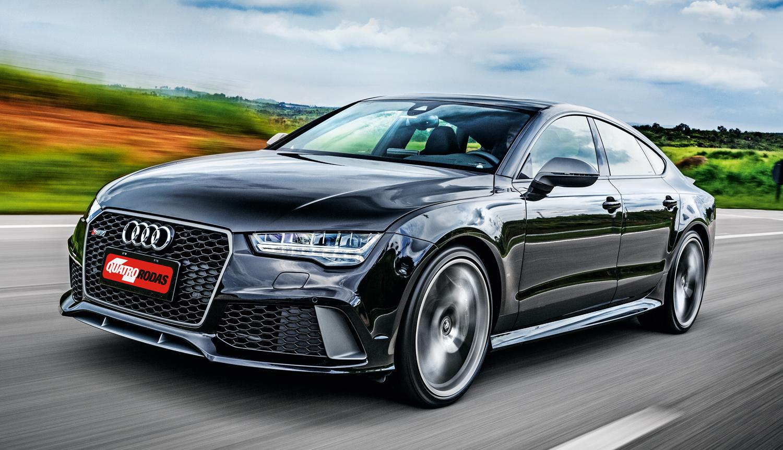 RS 7 acelera de 0 a 100 km/h em 3,7 segundos
