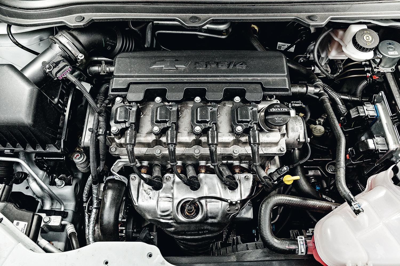 O motor 1.4 conta com até 106 cv