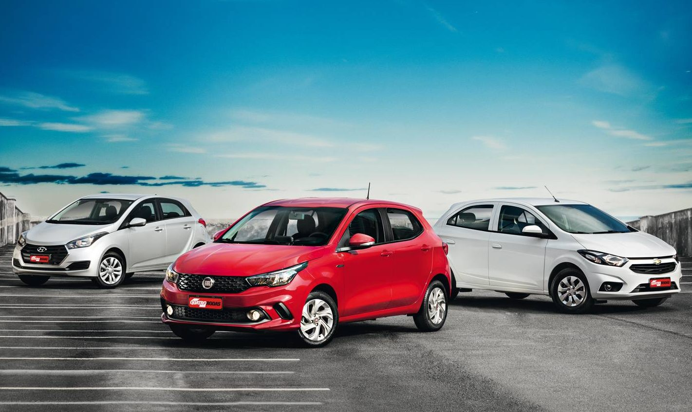 O novato da Fiat enfrenta os líderes do segmento da Hyundai e Chevrolet