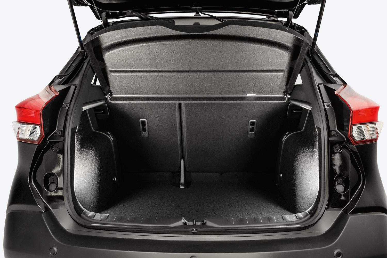 Porta-malas comporta 432 litros