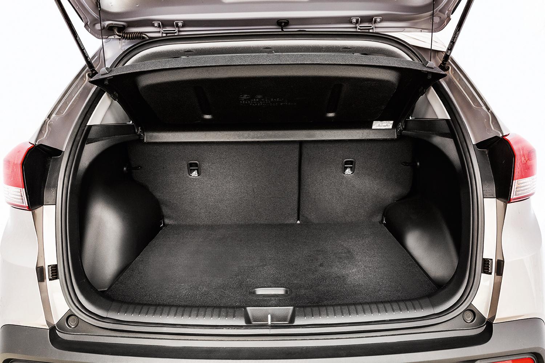 São 431 litros de volume para bagagem