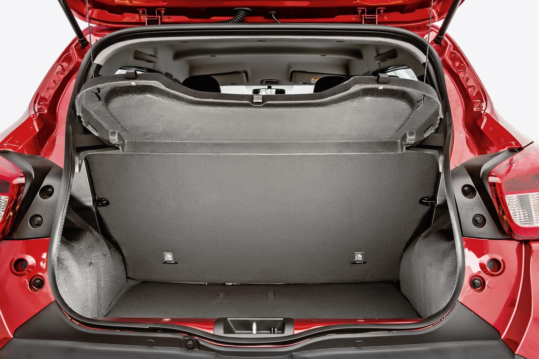 Porta-malas tem capacidade de transportar até 290 litros