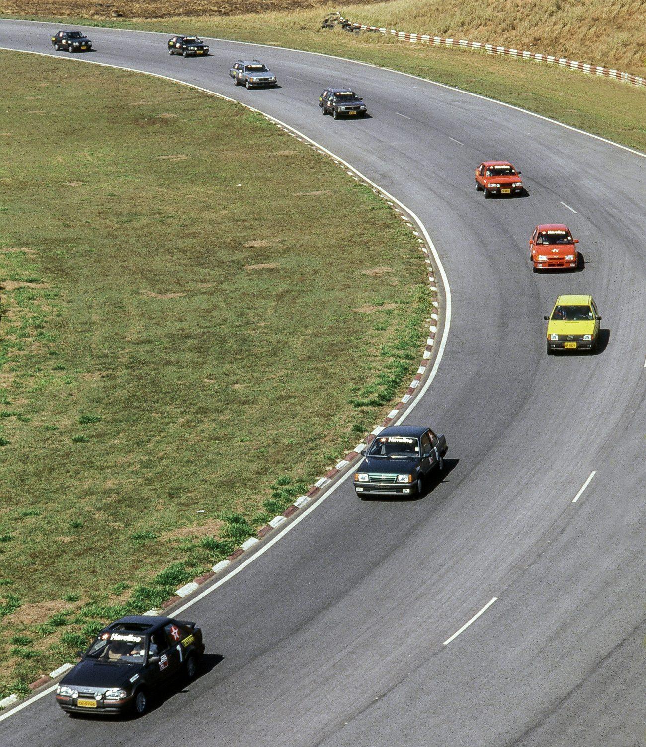 Ao todo, os nove carros rodaram quase 20.000 em Interlagos