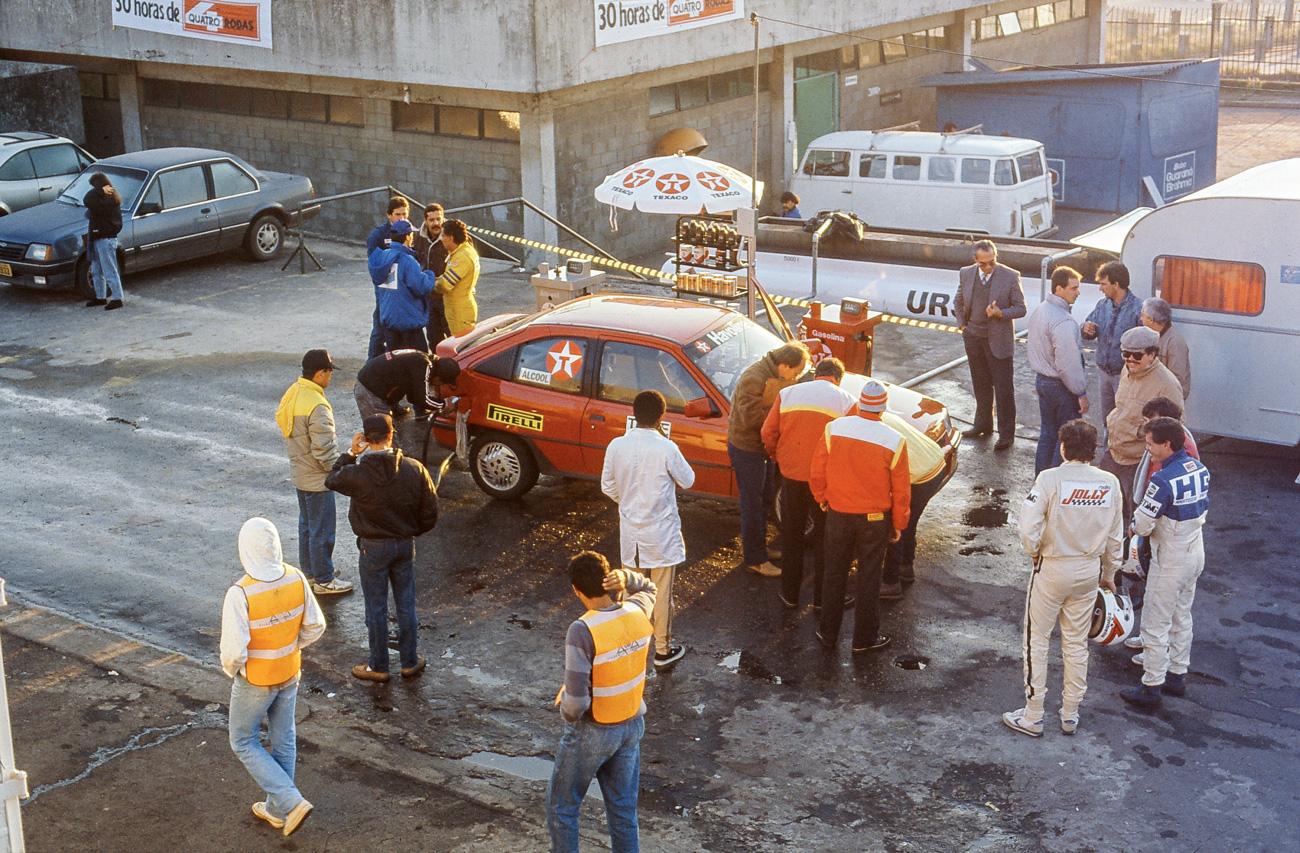 Os pit stops foram úteis para dar uma geral em cada automóvel