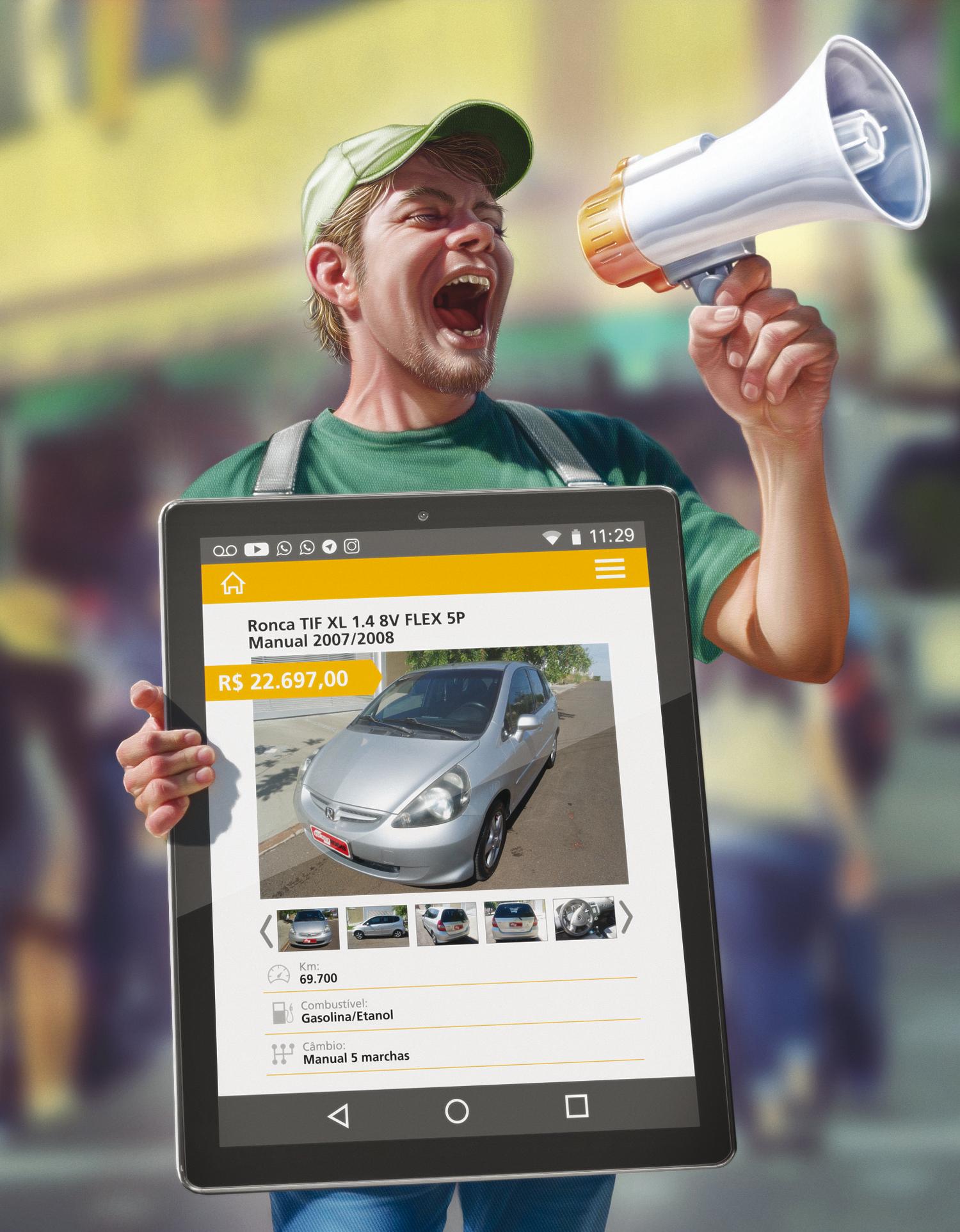 venda de carro usado