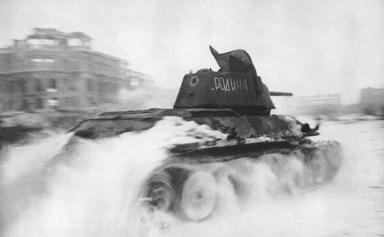 T-34 em Stalingrado