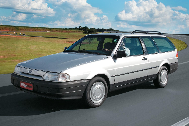 A carroceria era de VW Quantum, mas tinha só duas portas