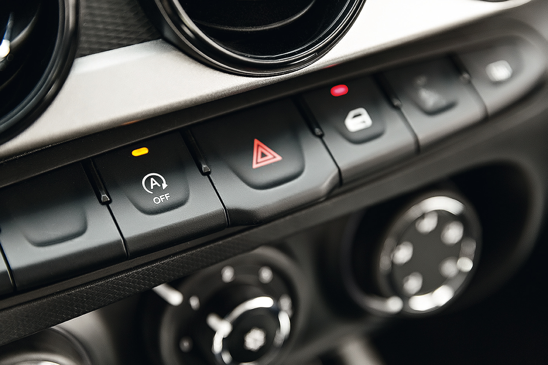 Start-stop pode ser desativado por um botão