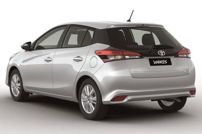 Toyota Yaris-rear