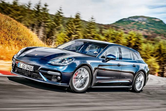 Impressões: Porsche Panamera Sport Turismo