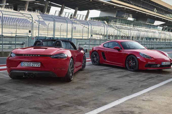 Porsche 718 Cayman e Boxter GTS