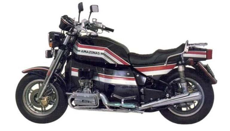 Moto Amazonas 1.600