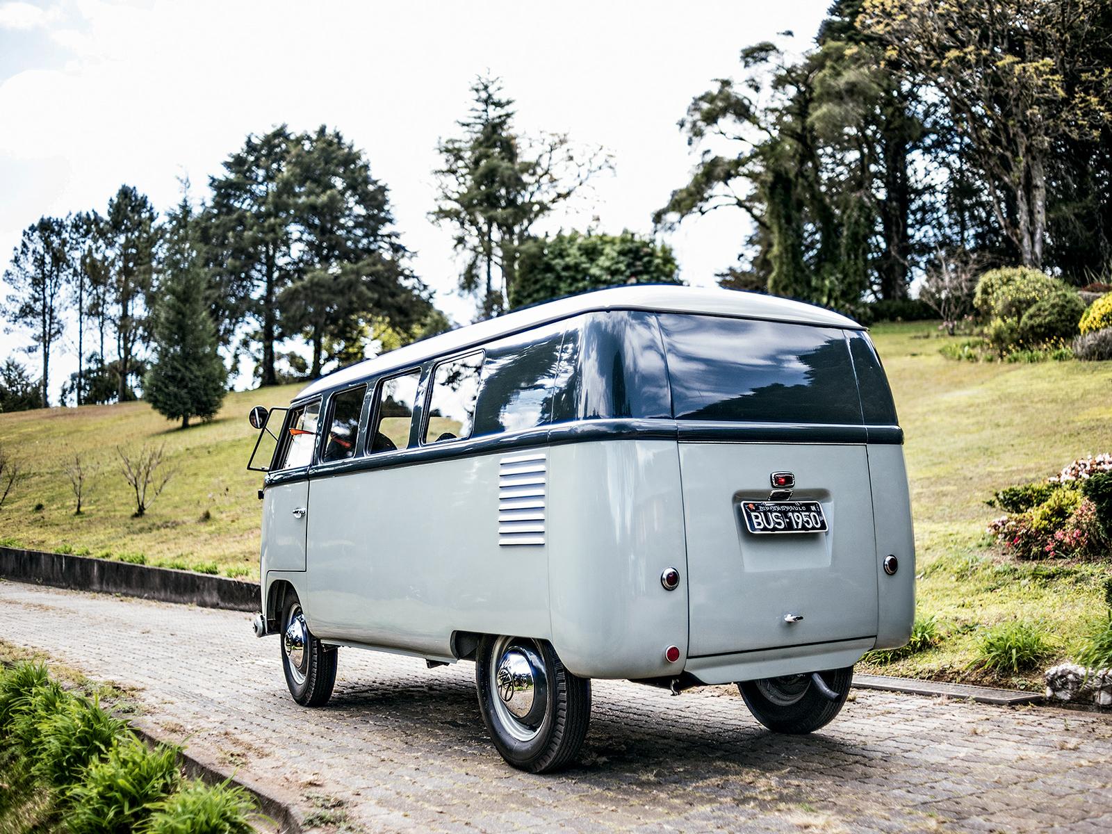 A Kombi 1950 é a única existente nas Américas