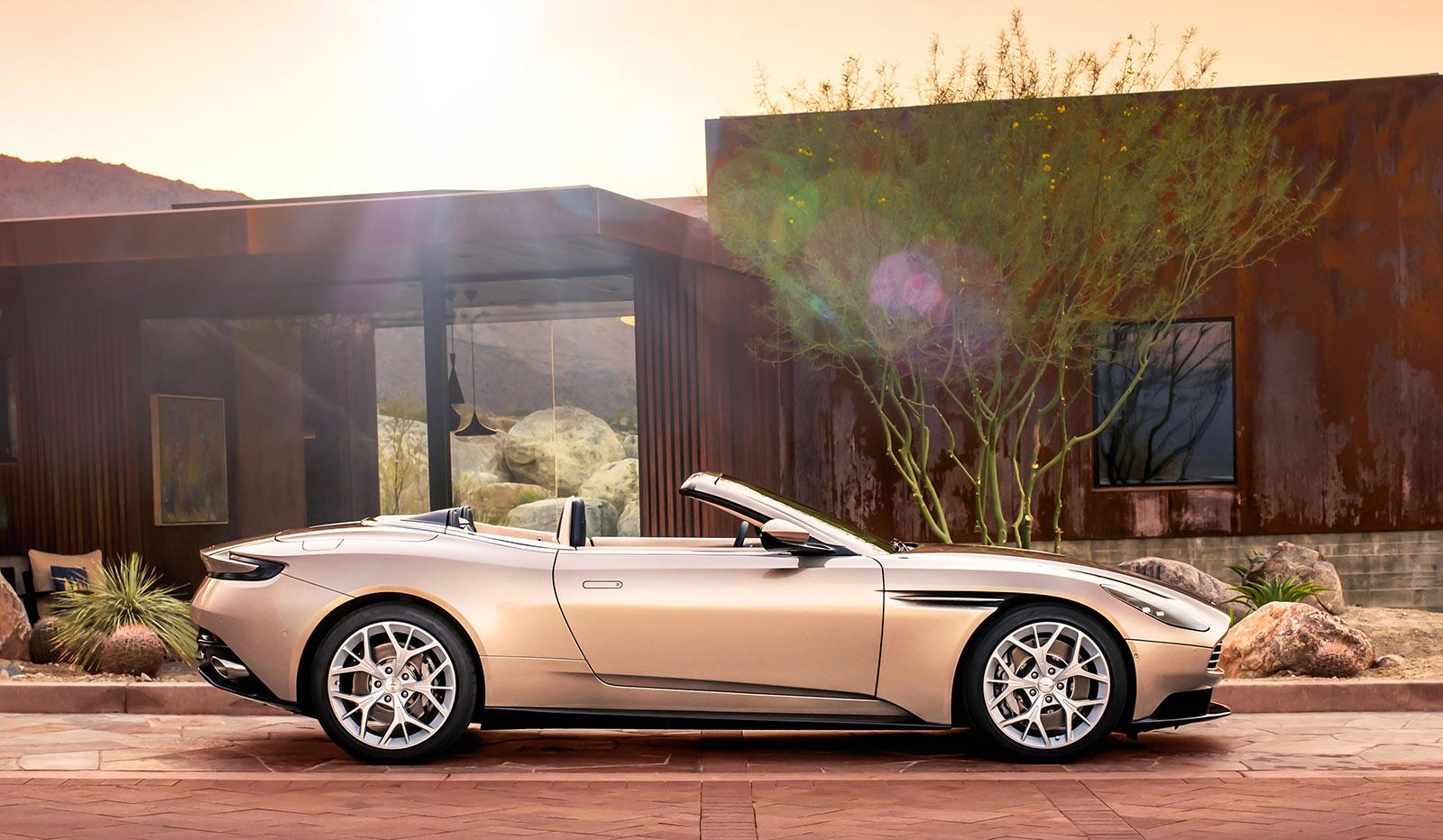 Aston Martin Revela Db11 Conversivel Com Motor Amg Quatro Rodas