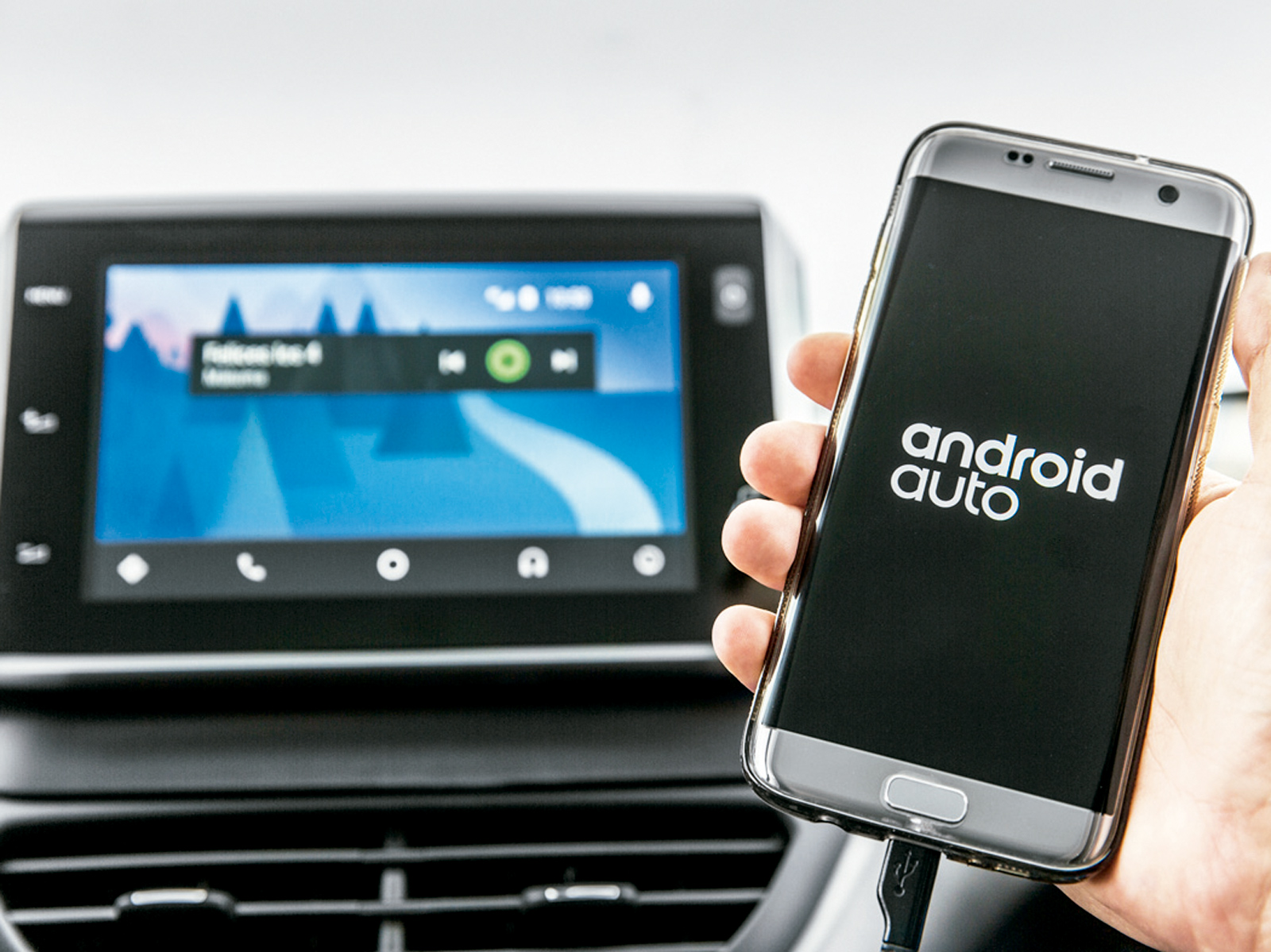Multimídia agora tem Android Auto