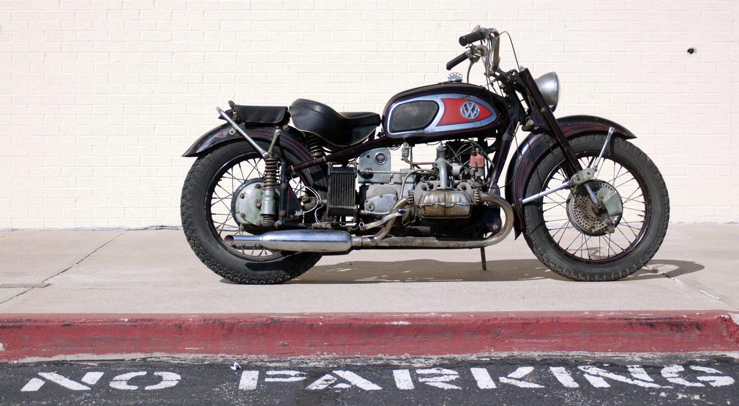 Von Dutch XAVW é uma moto norte-americana com motor Volkswagen