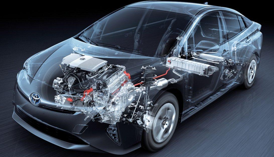 Mecânica híbrida do Toyota Prius