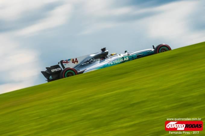 Lewis Hamilton no GP Brasil de F-1