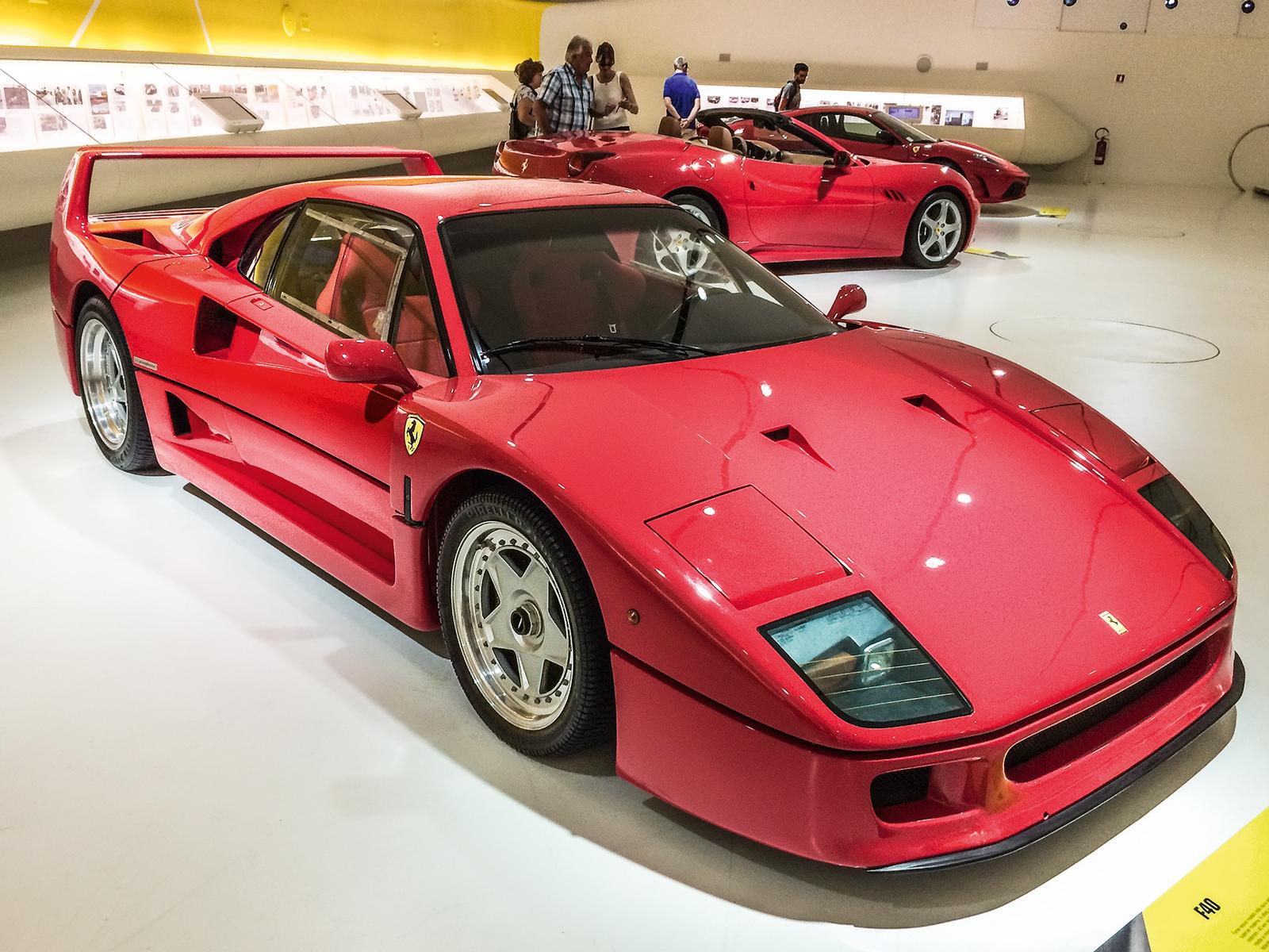 Ferrari F40, de 1987