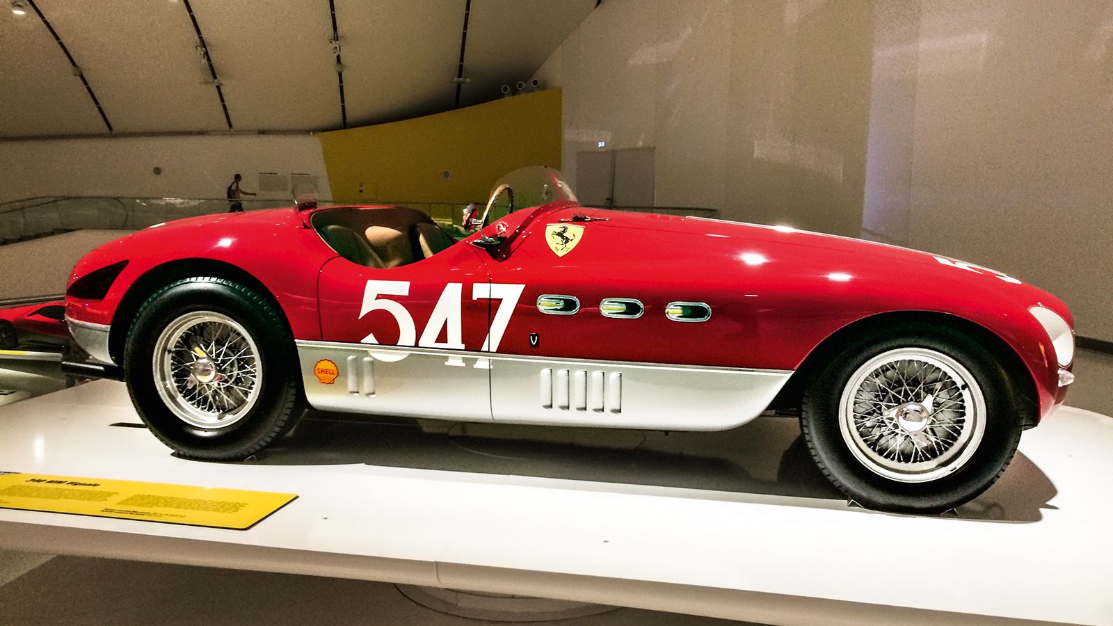 Ferrari 345 Spyder Vignale MM, de 1953