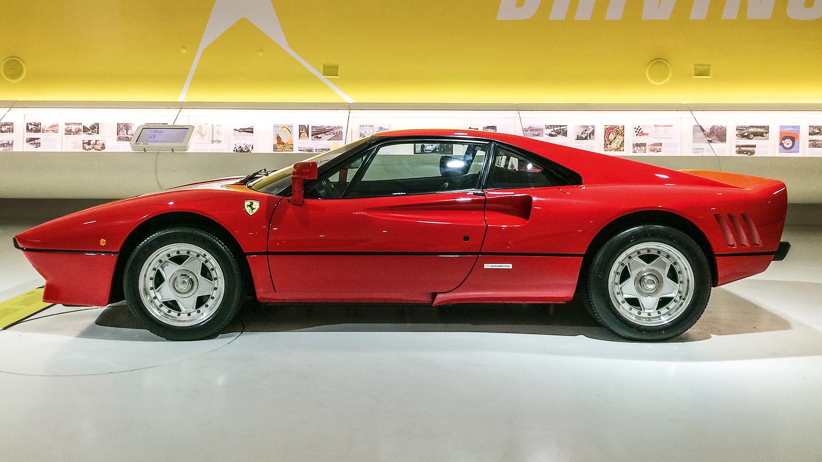Ferrari 288 GTO, de 1984