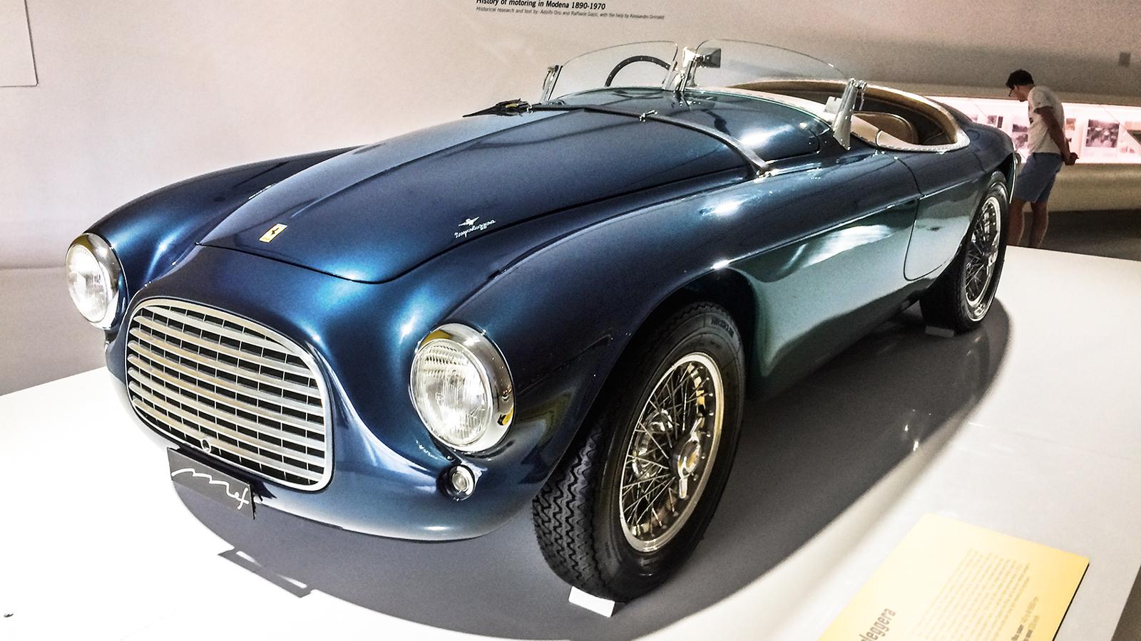 Ferrari 166 Mille MIglia Barchetta, de 1950