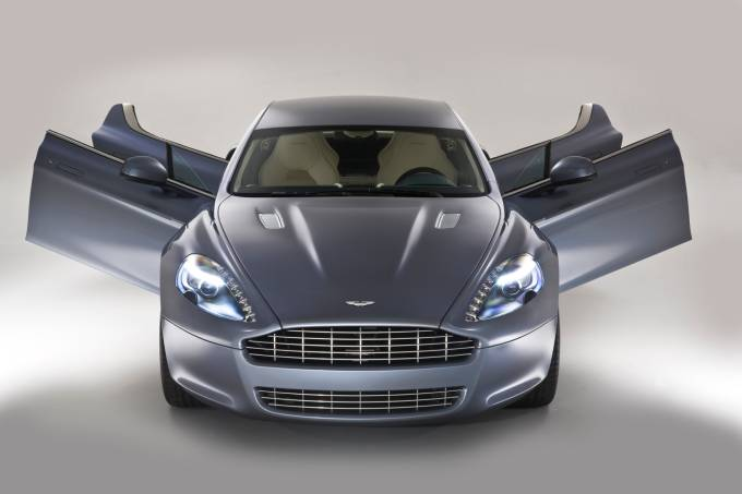 Aston Martin Rapide Doors