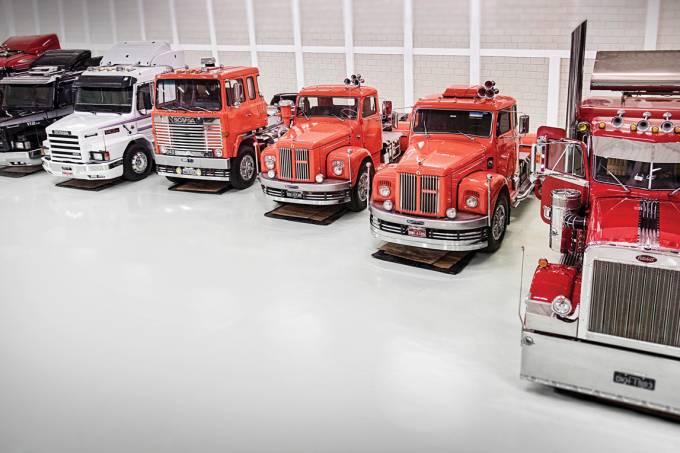 Coleção de caminhões